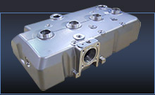 Milling & Painting of an Aluminum Valve Cover for the Forklift Industry